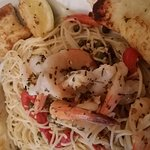 Get the Tuscan Shrimp if you like shrimp scampi, delicious =)