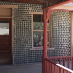 House made from bottles