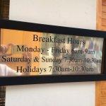 Free Breakfast Hours