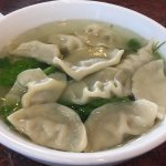 Lots of dumplings in soup