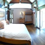 Extra spacious villa rooms with high ceilings