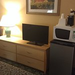 Room was reasonably well-equipped