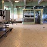 Kitchen on alcatraz