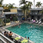 Just a typical weekend at the Lafayette Hotel and swim club. Lady Dottie and the Diamonds were j