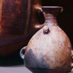 Pequeño aríbalo Inka de cerámica