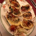 Oysters rockefeller, Bold Knight Restaurant 1140 Trans Canada Hwy., Nanaimo, British Columbia