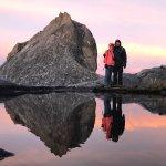Reflection from Tarn on Mt Kinabalu