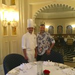 With Chef Raghuveer Singh Deora