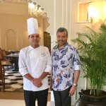 With Executive Chef Vikas