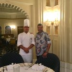 With Tandoor Chef Bharat Bhatia