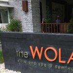 Entrance to The Wolas Villa and Spa!!
