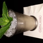 The mint julep here is perfect for the summertime!