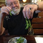 Even they can''t serve the Edamame right... they were still attached in bunches!