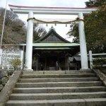 鎌倉宮-鳥居と拝殿