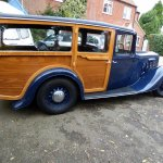 1936 Austin York 16-6 shooting brake