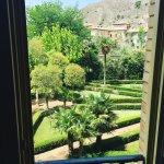 preciosas vistas desde la habitación del hotel gran cascada