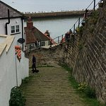 Whitby's 199 steps (or the slope next to them)