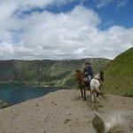 Quilatoa Lagoon - last day's ride