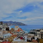 Sea-view from rooftop terrace