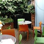 Lovely hidden garden area
