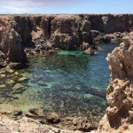 pretty little cove for beginners to get acquainted with diving in the sea.