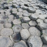 Giant's Causeway Rock Formation