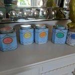 Selection of loose leaf tea