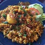 Vegetarian Biryani - Just the right amount of spice - £5:20