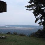 View of Lake Manyara Lying in the Rift Valley