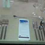 Menú de gala, menú de Autor del Chef Henry Oswaldo Acosta.