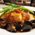 Prince Edward Island Mussels Provencal