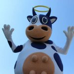 The Holy Cow - Our beloved mascot always puts smiles on faces.