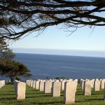 Viiew of Pacific Ocean from Fort Rosecrans Cemetary