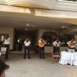 Mariachis at beach club!