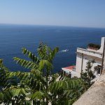View from path to Amalfi