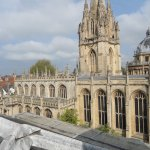 View of Oxford University from Room 244 Balcony