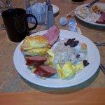 Just a sampling of breakfast offerings!