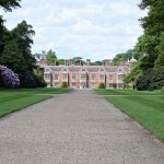 View of Blickling House from the formal gardens