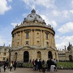 Radcliffe Camera and Other Bodleian Library Building in Background