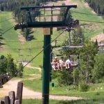 Park city ski lift ride