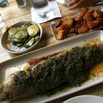 Whole Grilled Fish (Redfish)