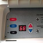 thermostat controlled air unit