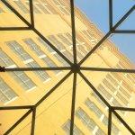 Looking through skylight
