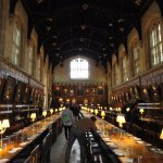 Famous (Harry Potter) Christ Church Dining Hall in University of Oxford