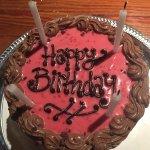 An amazing chocolate-raspberry cake!