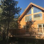 Our cabin was relaxing and cozy, a perfect romantic getaway, but enough room for a family. We ar