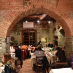 Authentic Italian atmosphere where all tables were occupied.