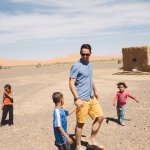 Hanging out with nomadic people in the desert