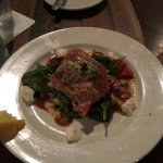 The Saltimbocca, grouper wrapped in prosciutto