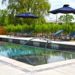 Take a quick dip at the end of a fun filled day before dinner!